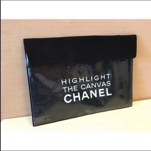 Chanel  Beauty  Define A Style Makeup Cosmetic BAG